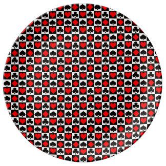 Juegos de la tarjeta….Cambie el blanco a su color Platos De Cerámica
