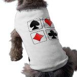 Juegos de la tarjeta camisetas de mascota