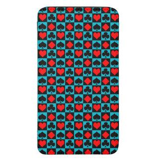 Juegos de la tarjeta. con sus colores funda acolchada para galaxy s5