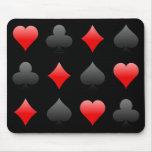 Juegos de la tarjeta de la veintiuna/del póker: Ar Alfombrillas De Ratones