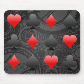 Juegos de la tarjeta de la veintiuna/del póker: Ar Tapete De Raton