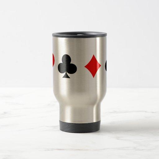 Juegos de la tarjeta de la veintiuna/del póker: Ar Taza De Café