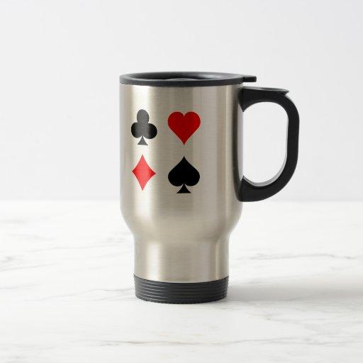 Juegos de la tarjeta de la veintiuna/del póker: Ar Tazas