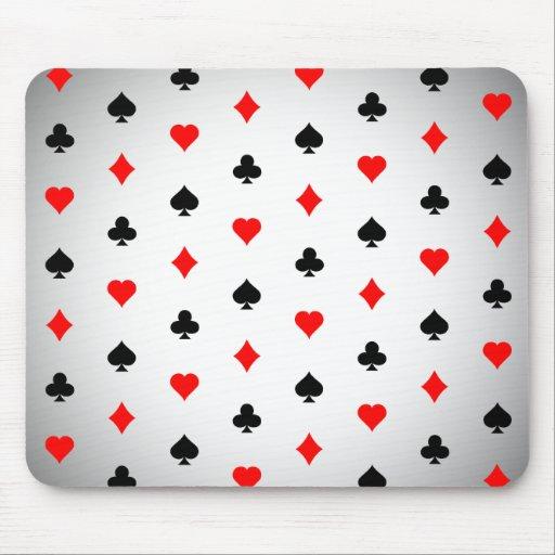 Juegos de la tarjeta de la veintiuna/del póker: Mo Alfombrilla De Raton