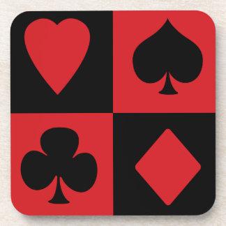 Juegos de la tarjeta posavaso