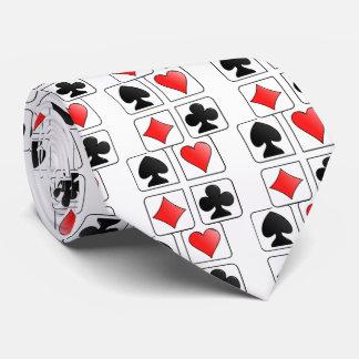 Juegos de las tarjetas, diamantes, espadas, corbatas