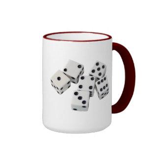 Juegos de los dados taza