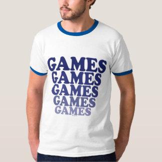 Juegos de los juegos de los juegos playera