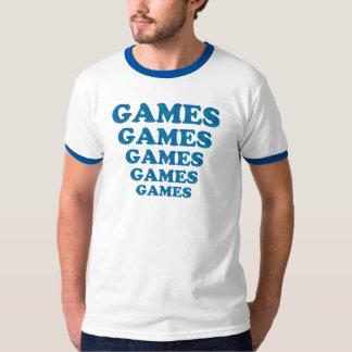 Juegos de los juegos de los juegos remeras
