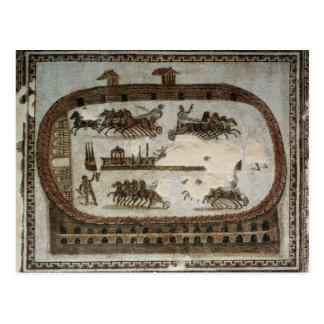 Juegos del circo de Cartago romano Tarjetas Postales