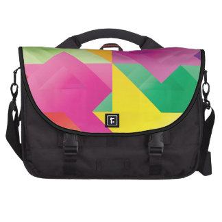 juegos del color del triángulo bolsas para portátil