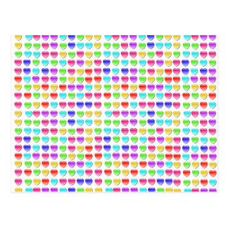 Juegos del desplome del corazón tarjetas postales