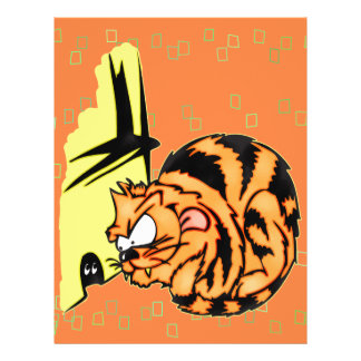 """Juegos del gato y del ratón folleto 8.5"""" x 11"""""""