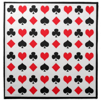 Juegos del juego de tarjeta servilletas