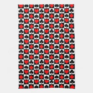 Juegos del juego de tarjeta toalla de cocina