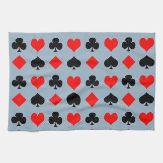 Juegos del juego de tarjeta toallas