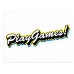 Juegos del juego - juego del empollón del friki de postal