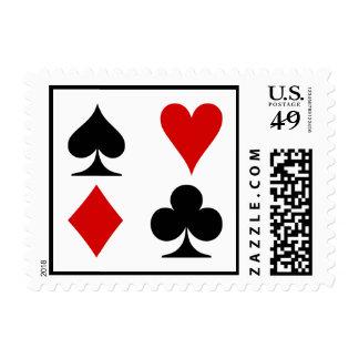 Juegos del naipe sellos