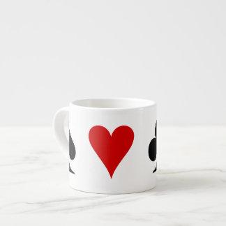 Juegos del naipe taza espresso