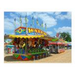 Juegos en la postal justa del carnaval del condado