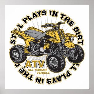 Juegos en la suciedad ATV Posters