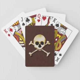 Juegos espeluznantes asustadizos de Halloween del Cartas De Póquer