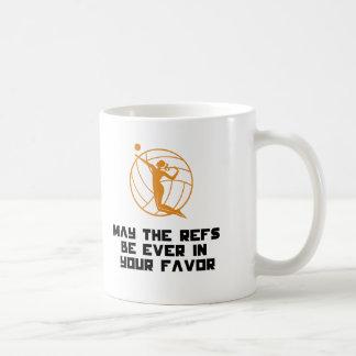 Juegos felices del voleo taza