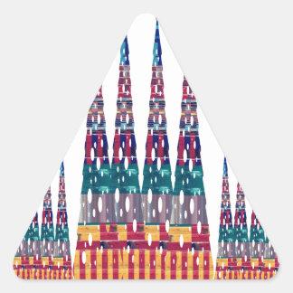 Juegos gráficos NVN691 de la diva de la moda del Pegatina Triangulo Personalizadas