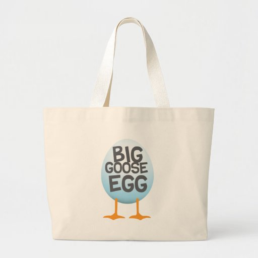 Juegos grandes del huevo de ganso bolsa tela grande