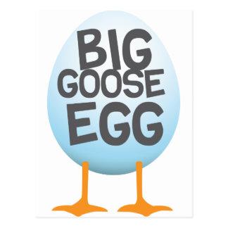 Juegos grandes del huevo de ganso tarjetas postales