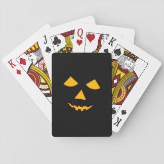 Juegos lindos de Halloween de la cara de la Baraja De Cartas