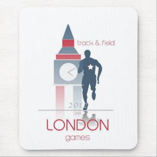 Juegos Olímpicos: Atletismo Alfombrilla De Ratón