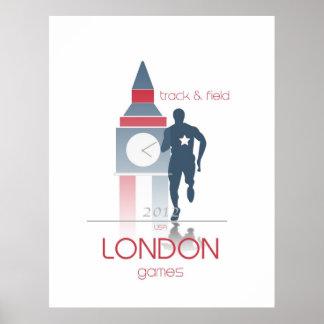 Juegos Olímpicos: Atletismo Posters