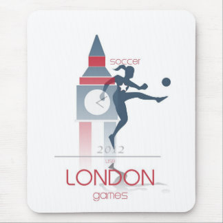 Juegos Olímpicos: Fútbol Alfombrilla De Ratón