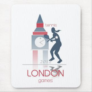 Juegos Olímpicos: Tenis Alfombrilla De Ratón