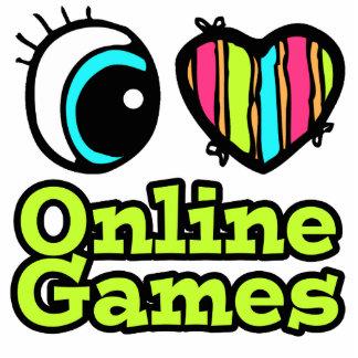 Juegos onlines brillantes del amor del corazón I d Escultura Fotografica