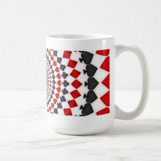 Juegos radiales de la tarjeta Taza de café
