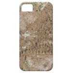 Juegue al hombre empujado en fango iPhone 5 carcasa