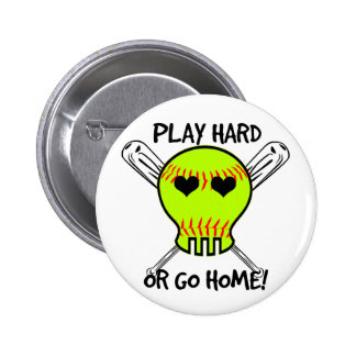 ¡Juegue difícilmente o vaya a casa! Pin