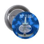 Juegue el botón de los azules pin