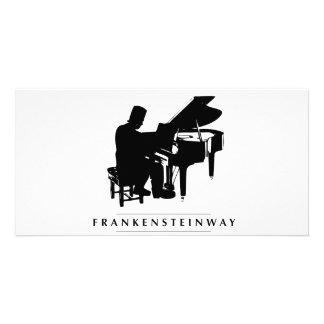 ¡Juegue el Frankensteinway! Tarjeta Fotográfica Personalizada