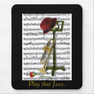 Juegue ese jazz alfombrillas de ratón