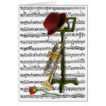 Juegue ese jazz tarjeta de felicitación