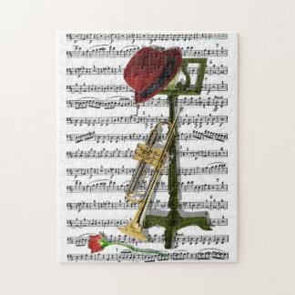 Juegue ese rompecabezas de la música