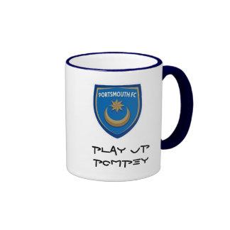 Juegue para arriba la taza de Pompey
