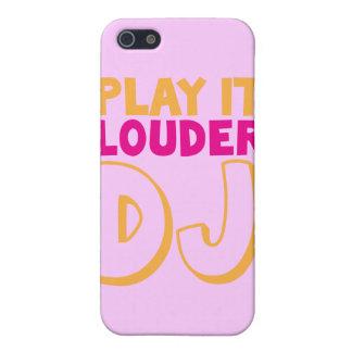¡JUEGÚELO DJ MÁS RUIDOSO! iPhone 5 FUNDAS