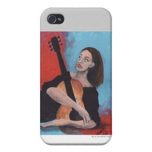 Juegúeme (el chica con la guitarra) iPhone 4/4S carcasa