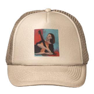 Juegúeme (el chica con la guitarra) gorras