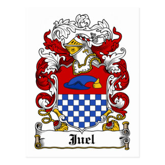Juel Family Crest Postcard