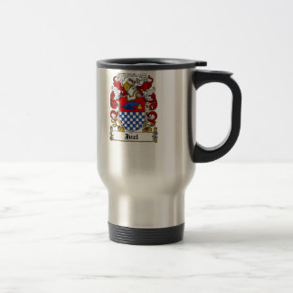 Juel Family Crest Travel Mug